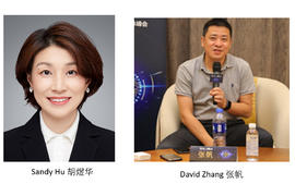 People in the news: Chen Nanxiang, Sandy Hu, David Zhang, Jiang Han