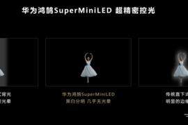 【关注】华为发布首款MiniLED智慧屏激发产业;