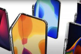 韩媒:预计苹果首款折叠机2023年问世,正与LG Display开发可折叠面板