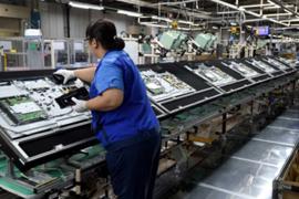 9月大陆LCD面板厂产能利用率跌破90% 京东方减产一成