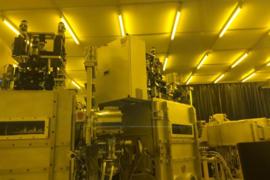 合肥欣奕华首台硅基OLED蒸镀机导入观宇科技量产线