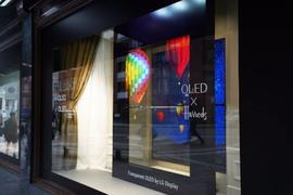 科幻电影吸睛显示器?LG推出55英寸透明OLED屏幕