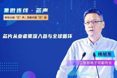工信部杨旭东:芯片从业者需要用智慧深入参与全球循环