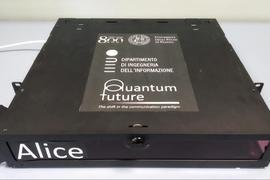 简单量子密钥分发系统研发新进展:可与当前光纤电信网络配合使用
