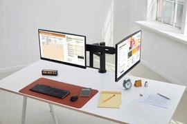 LG发布第二代Ergo显示器 提高舒适度和生产力